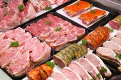 De slagers verzetten tegenzich Royalty-vrije Stock Foto