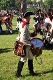 De slagwerker van het leger Stock Foto's