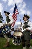 De slagwerkers van het theekransje. Stock Fotografie