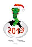 De slang van de kerstman Stock Foto