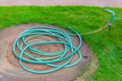 De slang van de tuin Royalty-vrije Stock Fotografie