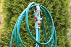 De slang voor het water geven van installaties stock fotografie
