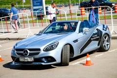 De slc-Klasse van Mercedes-Benz R172 Stock Foto's