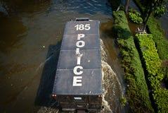 De slechtste vloed van Bangkok in 2011 Royalty-vrije Stock Foto's