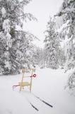 De slee van de aftrap in Zweden Stock Afbeelding