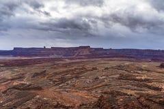 De Sleep Moab Utah van de Hurrahpas stock fotografie