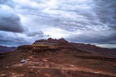 De Sleep Moab Utah van de Hurrahpas stock afbeeldingen