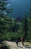 De sleep van de berg Stock Afbeelding
