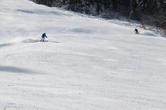 De sleep van de ski Royalty-vrije Stock Afbeeldingen
