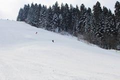 De sleep van de ski Stock Afbeelding