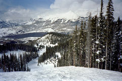 De Sleep van de Ski van het telluride Stock Afbeelding