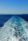 De sleep van de veerboot Stock Fotografie