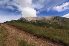 De sleep van een Dolomiet Stock Foto