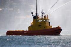 De Sleepboot van de brand Stock Afbeelding