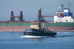 De Sleepboot van Gibraltar Stock Afbeelding