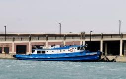 De Sleepboot van de Riviericebreaking van Chicago royalty-vrije stock fotografie