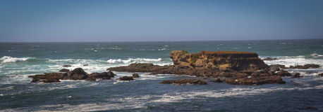 De Sleepfoto's van het glasstrand in Fort Bragg CA Stock Foto's