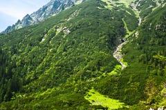 De sleeplandschap van de berg Royalty-vrije Stock Afbeelding