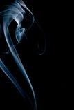 De slepen van de rook Stock Foto