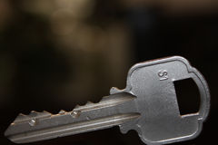 De sleutel Royalty-vrije Stock Foto