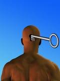 De sleutel Stock Afbeeldingen
