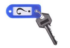 De sleutel tot het geheim Stock Foto