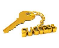 De sleutel tot succes royalty-vrije illustratie