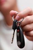 De sleutel van de auto Royalty-vrije Stock Foto's