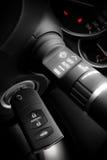 De sleutel van de auto Stock Afbeelding