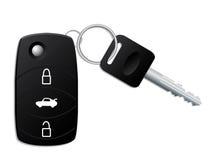 De sleutel van de auto met ver stock illustratie