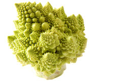De Sleutel van de Broccoli van Romanesco hoog royalty-vrije stock foto's