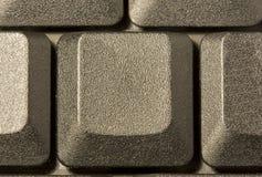 De sleutel van de computer in een toetsenbord met brief, aantal en Stock Afbeelding