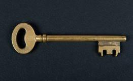 De sleutel van de deur Stock Foto