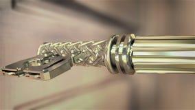 De sleutel van de dollarmachine vector illustratie