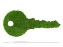 De sleutel van de ecologie Royalty-vrije Stock Foto's