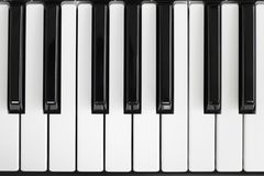 De sleutel van de piano Royalty-vrije Stock Foto's