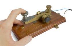 De Sleutel van de telegraaf Royalty-vrije Stock Foto's