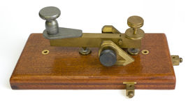 De Sleutel van de telegraaf Royalty-vrije Stock Afbeeldingen