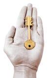 De sleutel van het cijfer royalty-vrije stock afbeelding