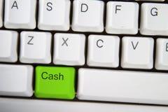 De Sleutel van het contante geld Royalty-vrije Stock Foto's