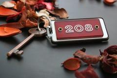 De sleutel van het hotel Royalty-vrije Stock Afbeelding