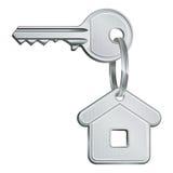 De sleutel van het huis Royalty-vrije Stock Foto