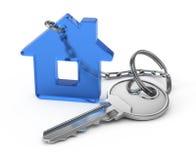 De sleutel van het huis vector illustratie