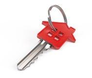 De sleutel van het huis stock illustratie