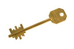 De sleutel van het metaal stock fotografie