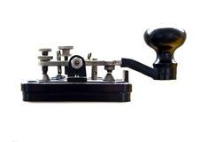 De sleutel van morse stock foto