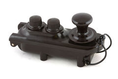 De sleutel van Morse van de badkuip Stock Fotografie