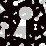 De sleutelgatenachtergrond. Royalty-vrije Stock Afbeeldingen