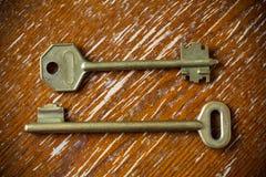 De sleutels in uitstekende stijl Royalty-vrije Stock Fotografie