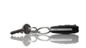 De sleutels van de auto en van het huis Royalty-vrije Stock Afbeelding
